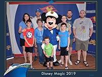 Pat LeDuc on a Disney cruise