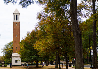 Denny Chimes and The Quad