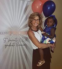 Lisa Costa at the Preemie Prom