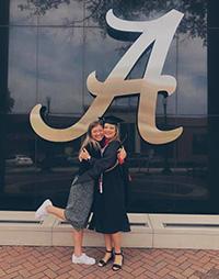 Beth Camp at graduation