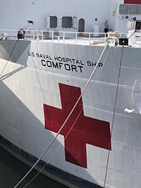 US Naval Hospital Ship Comfort