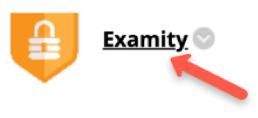 Examity button