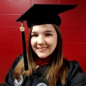 Candida at graduation