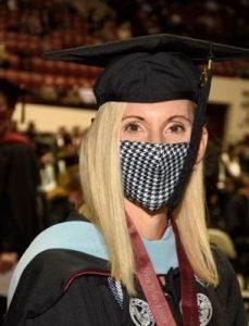 Jessica at graduation