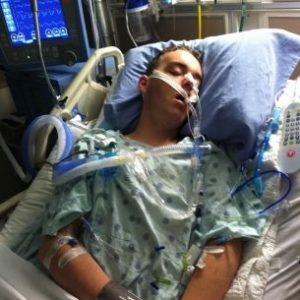 Ryan in the hospital